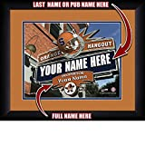 Photo File Sports Man Cave Hangout-College Syracuse Orange Frame, 15'' x 18''