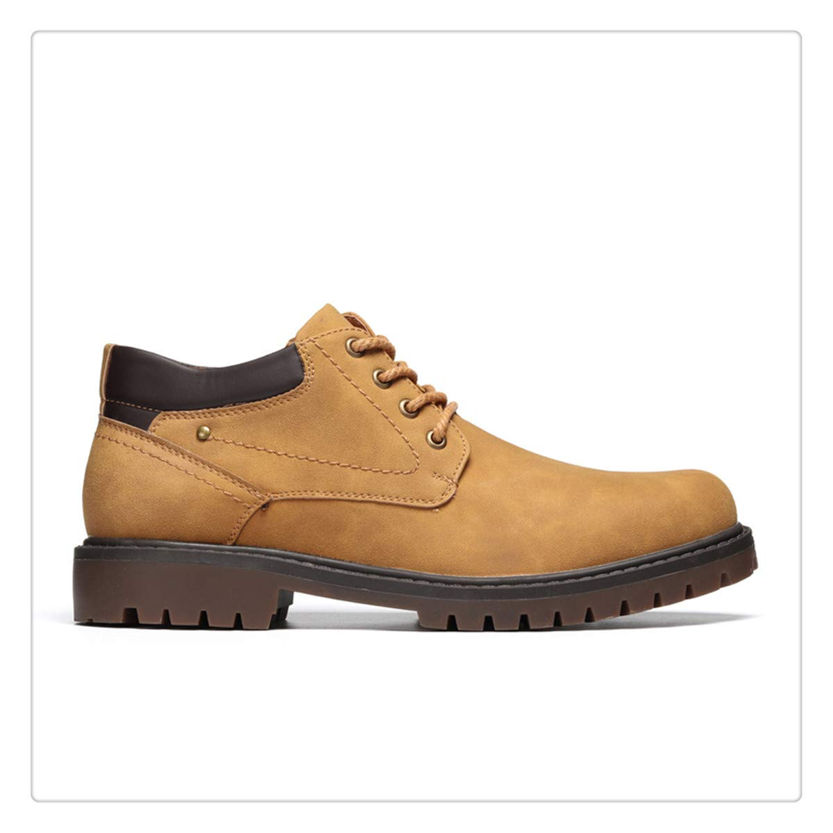 Hchengxianz 40-45 Men Winter Boots Warm Comfortable Working Safety Winter Men Shoes