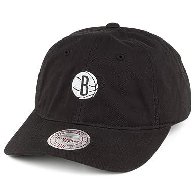 Gorra de béisbol Chukker Brooklyn Nets de Mitchell & Ness - Negro ...