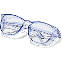 Safety Glasses Anti Fog Safety Goggles Blue Light Blocking Glasses Protective Eyewear Safety Goggles for Women Men…