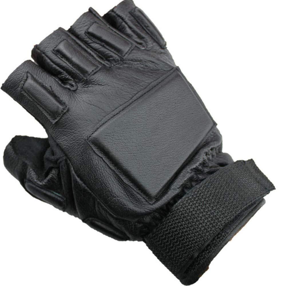 YIWANGO Halbe Fingerhandschuhe Für Herren Outdoor-Sportschutz Fitness-Trainingshandschuhe,1-OneGröße