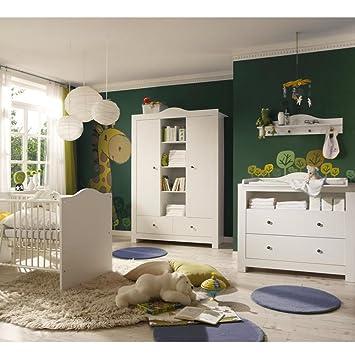 Babyzimmer weiß  Babyzimmer Luca