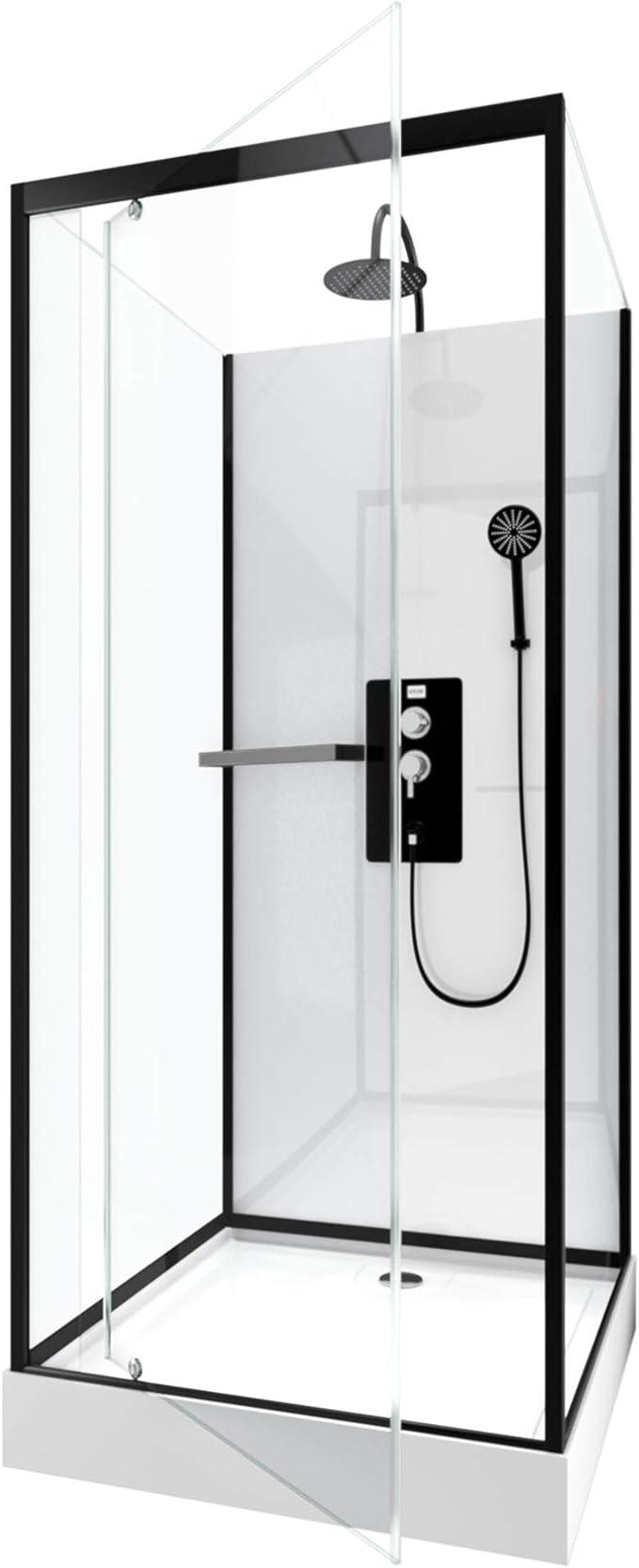 Aurlane CAB203 - Cabina de ducha, multicolor: Amazon.es: Bricolaje ...