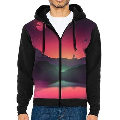 9efc3209 NavyLife Men's Fantasy Landscape Athletic Pocket Hoodie Jackets Full ...