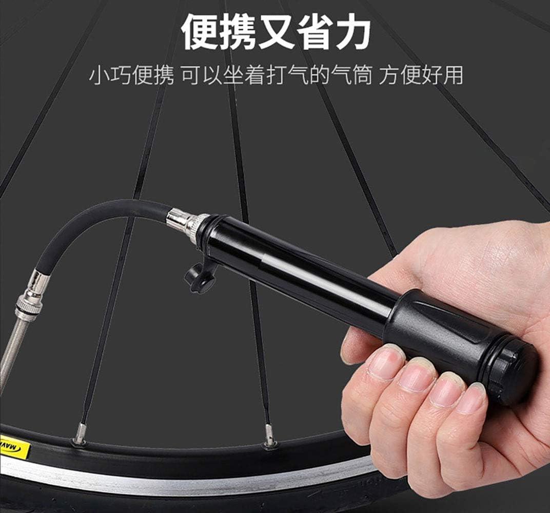 Mountain /& BMX Bikes Mini Bike Pump Portable 100 PSI Bicycle Tire Pump Fits Presta and Schrader Valve,Lightweight /& Pocket Size,for Road