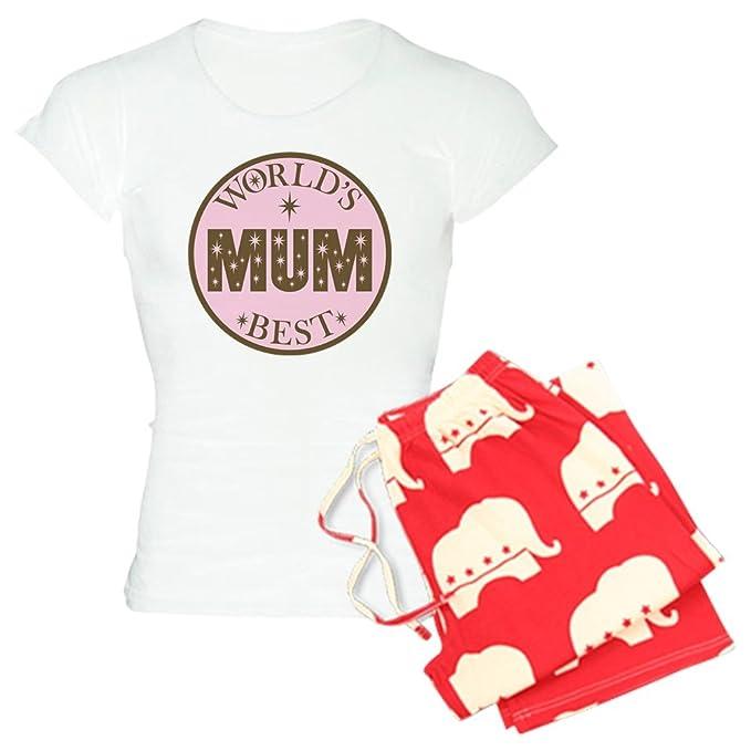 CafePress – mejor mamá del mundo de la mujer luz juego de pijama – pijama de