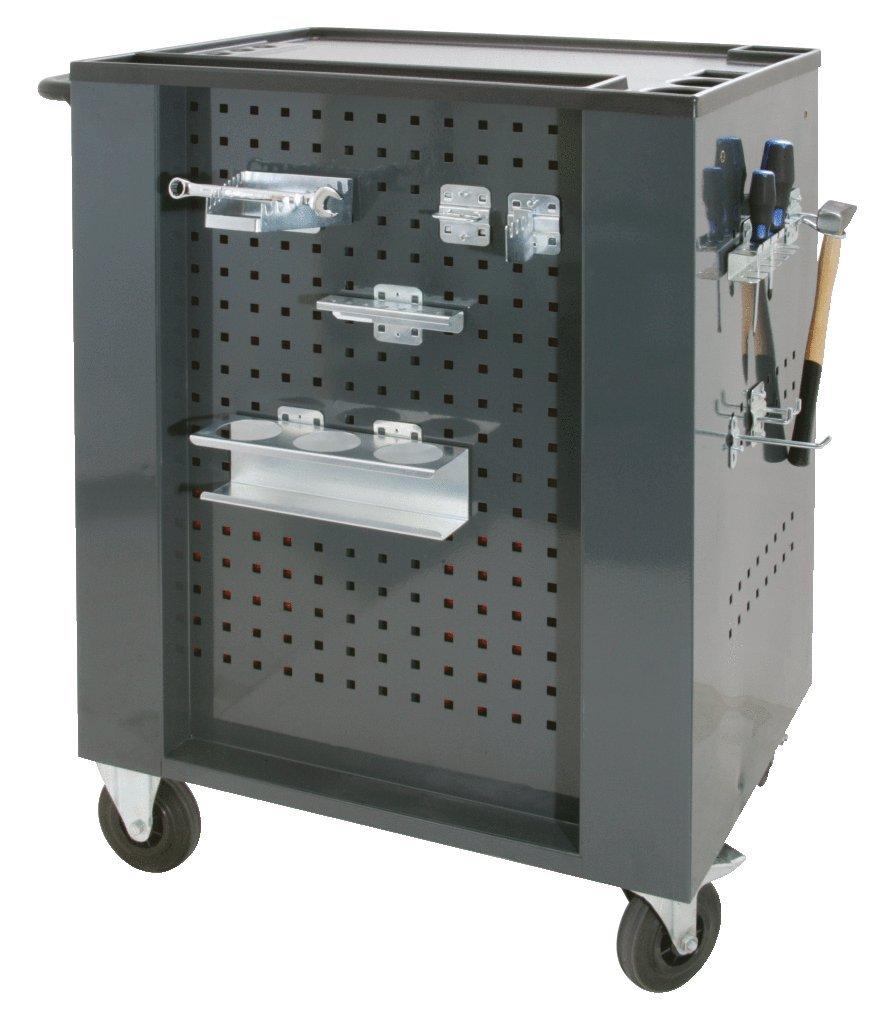 montaje horizontal, 8 orificios, 150 x 55 mm Soporte para destornilladores KS Tools 860.0849
