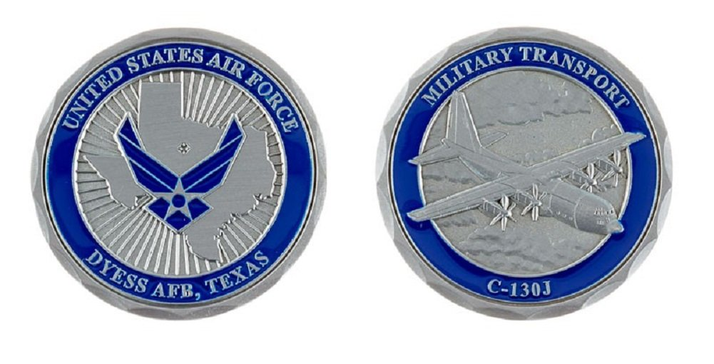 Dyess Air Force Base Challenge Coin B075MR5PST