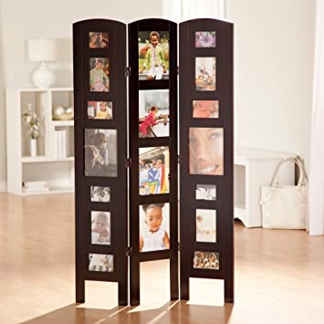 Amazoncom Memories Photo Frame Room Divider 3 Panel Kitchen