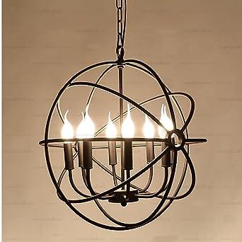 Nordic Creative Lighting lustre RHLoft anneau rétro salon ...