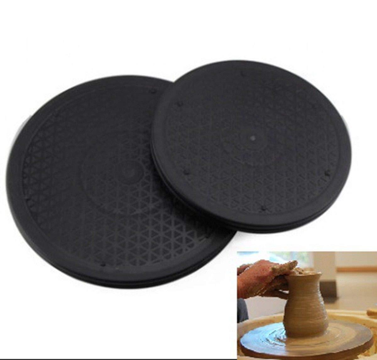 FidgetFidget Pottery Plate Turntable Clay Wheel Plate Turning 25cm(9.8in)