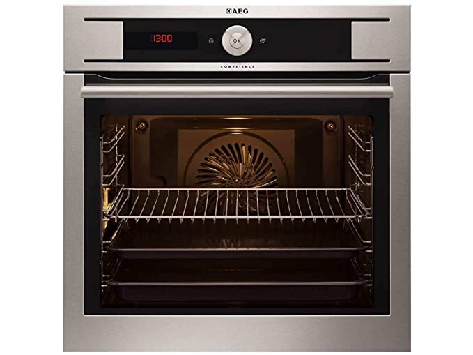 AEG by93 04001 m pyrolyse del Horno Acero Inoxidable empotrable ...