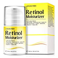 Lagunamoon Retinol Moisturizer Cream for Face & Eyes with Hyaluronic Acid and Vitamin...