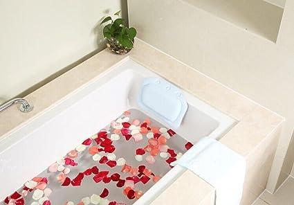 Amazon Com Bath Pillow Bathtub Pillow Bath Backrest Headrest