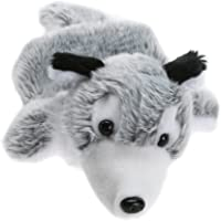Lightweight Easily Animate Cartoon Wolf Husky Hand Puppet Soft Fur Ear Tail Doll Plush Toy Pet Puppy Animal Story Telling Prop Play Glove