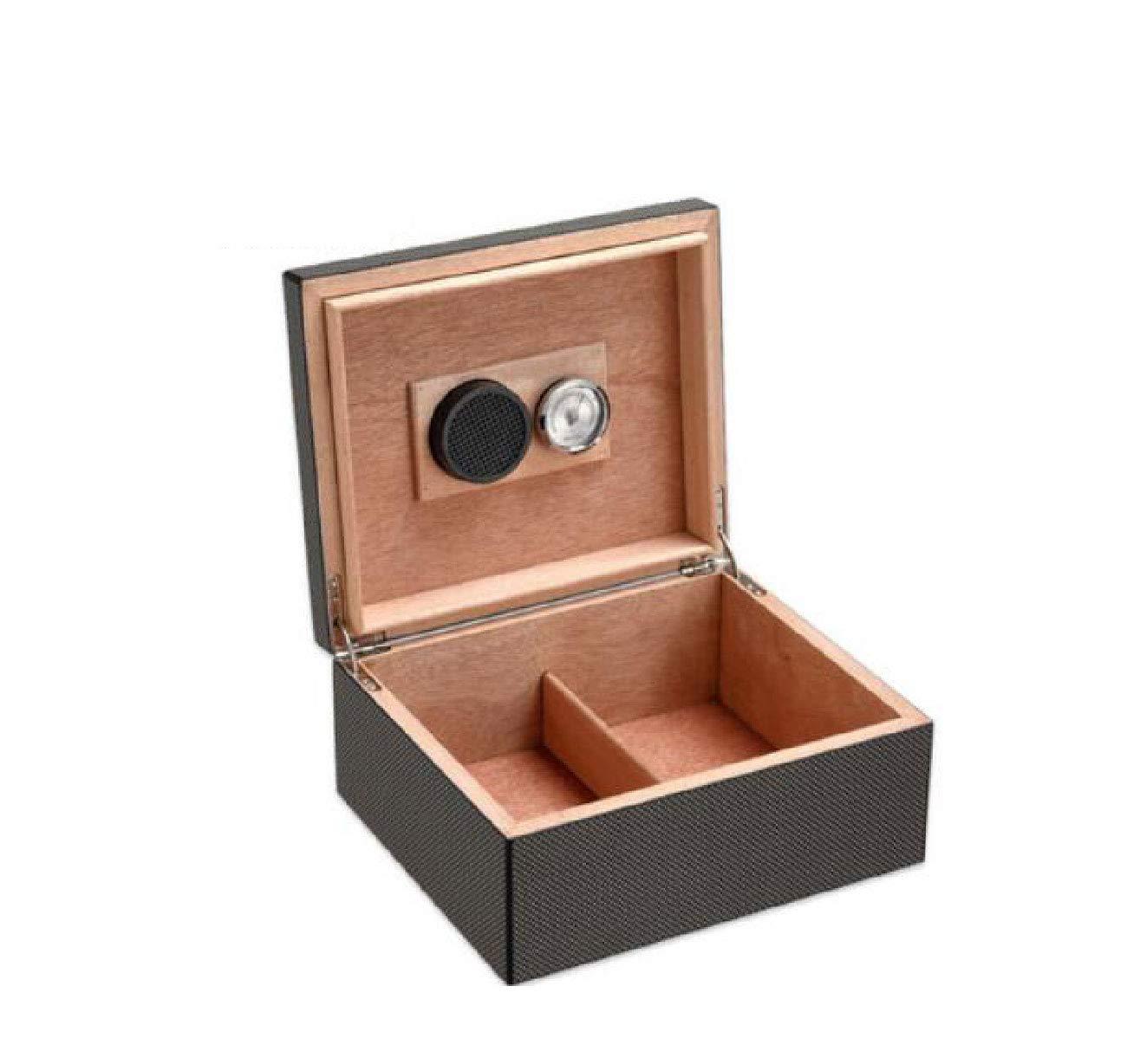シガーケースシガーカッター大容量の灰皿と杉を設定まろやかな葉巻ボックスの杉の木箱大容量の保湿保湿キャビネットまろやかなシガーボックス B07K18SNRS