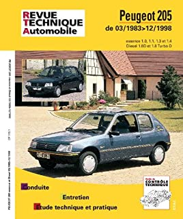 Rta 112.1 peugeot 205 essence et diesel