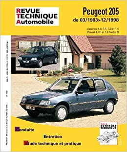 Rta 112.1 Peugeot 205 Essence et Diesel (French Edition): 9782726811214: Amazon.com: Books
