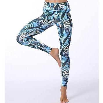 EAFALO Pantalones de Yoga Moda Sexy Impresión Digital ...