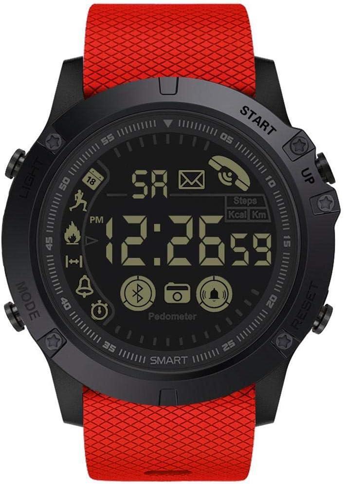 Free Venus Orologio da Polso Sportivo Impermeabile Impermeabile Smart Watch 30m Life Smartwatch Rosso