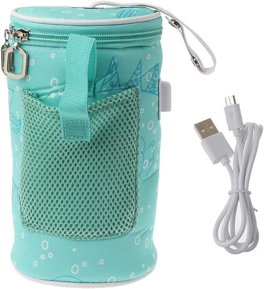 USB Tragbar Flaschenwärmer KFZ Babynahrung Heizung Tasche Milch Babykostwärmer