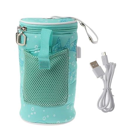 Mayoaoa - Calentador de biberones con USB, Aislante, Bolsa ...