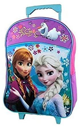 e6da490ade9 Image Unavailable. Image not available for. Color  Disney Frozen Rolling  School Backpack Large