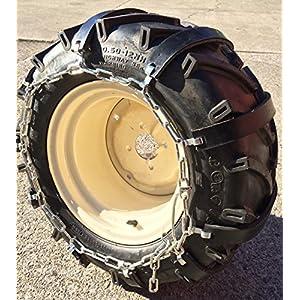 TireChain.com Rubber Tire Chains 20 x 10x 8, 20 x 10 x 10 Tractor, Priced per Pair