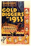 Gold Diggers of 1933 Poster 27x40 Joan Blondell Ruby Keeler Aline MacMahon
