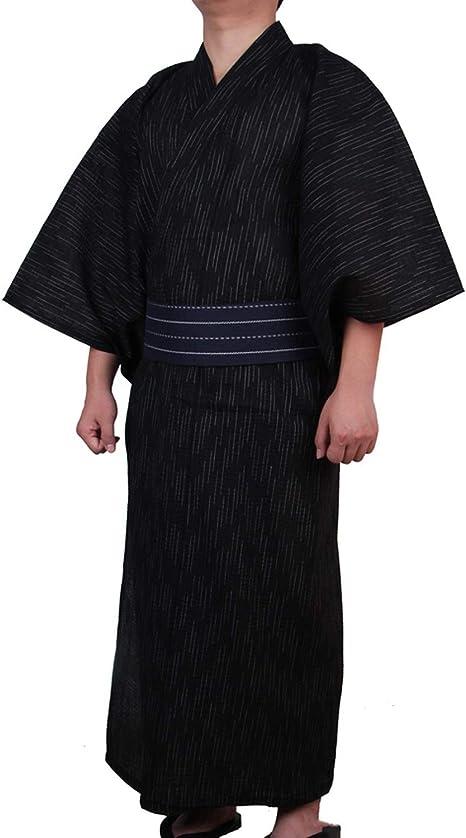HIKO23 Mens Pajamas Flannel Long-Sleeved Home Service Suit Pajamas Set