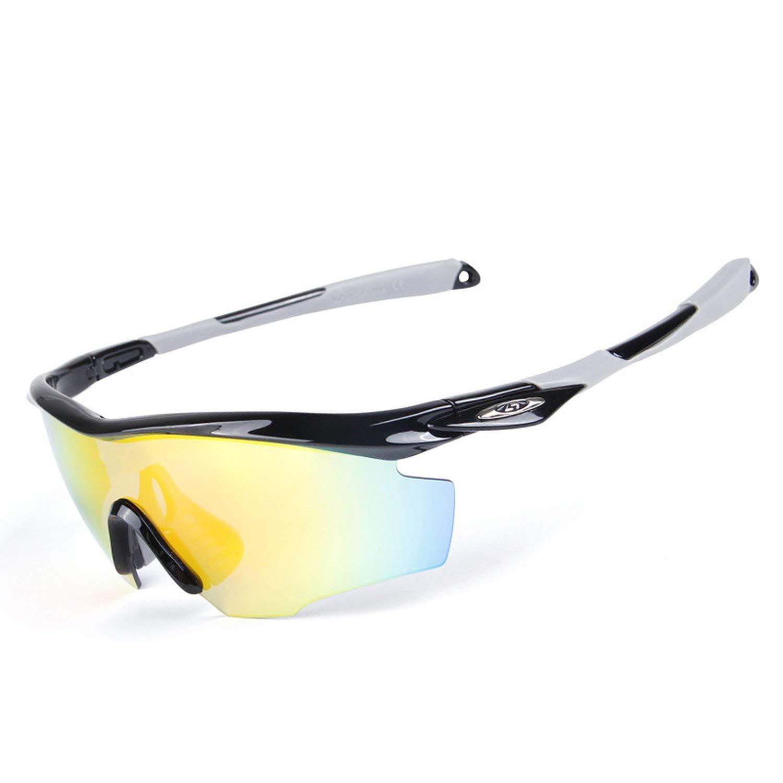 Amazon.com: Polarized Cycling Glasses Sunglasses Men Women Acetate Frame Polycarbonate Fishing Goggles,1: Clothing