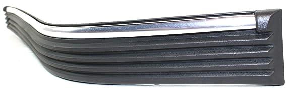 Bumper Trim compatible with GMC C//K Full Size P//U 88-02 Front LH Impact Strip Plastic Chrome 2-Piece Type Left Side