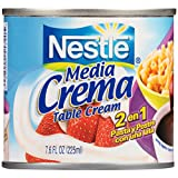 NESTLE Media Crema Table Cream, 7.6 Ounce.