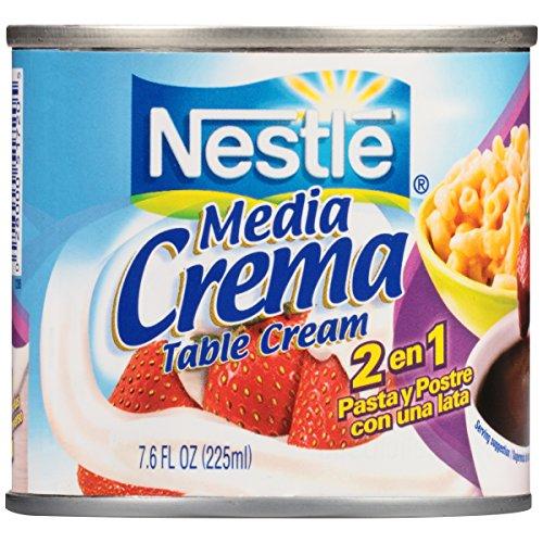 NESTLE Media Crema Table Cream, 7.6 Ounce.