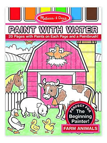 Melissa & Doug Paint With Water - Farm