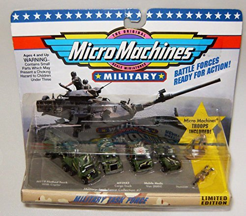 Combat Force Micro Helicopter - Micro Machines Military Task Force #7 Collection