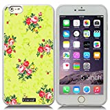 New Apple iPhone 6 Plus 5.5-inch CocoZ?Case Beautiful flowers designs TPU (Transparent TPU & Beautiful Flowers 14)