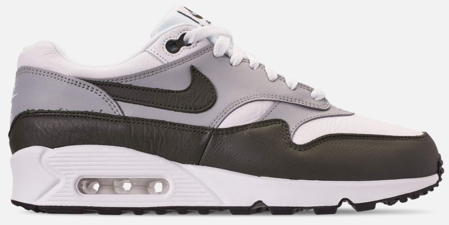 b4bb1bcb0d6 Nike Men s Air MAx 90 1 White Cargo Khaki-Black AJ7695-107
