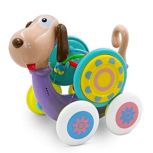 Zxllyntop Andador Caminante del bebé Perro eléctrico de Juguete ...