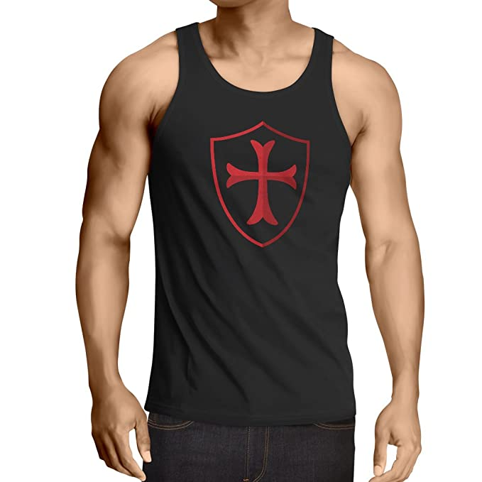 Lepnime Mens Tank Top The Knights