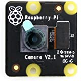 Waveshare RPi NoIR Camera V2 Official Raspebrry Pi Camera Module Kit 8mp Sony IMX219 Sensor 1080p30 Supports Night Vision for all revisions of the Raspebrry Pi
