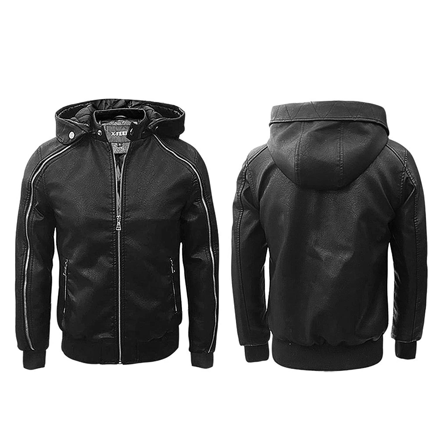 X-Feel Men's Parka Jacket black black