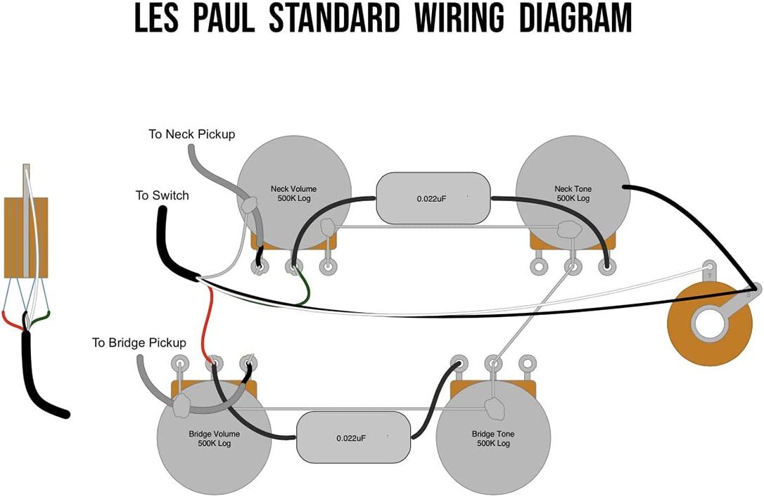 les paul switch wiring diagram amazon com prewired switchcraft usa 3 way toggle switch les paul  prewired switchcraft usa 3 way toggle