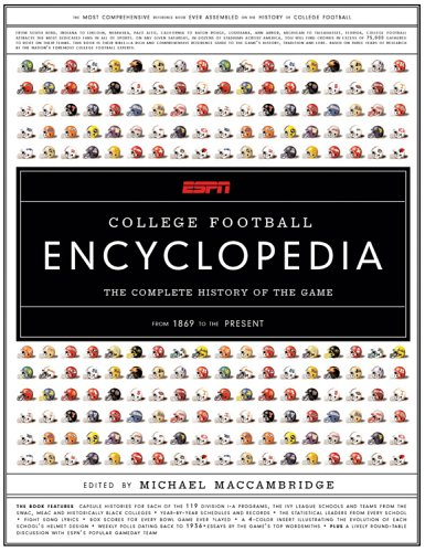 - ESPN College Football Encyclopedia: The Complete History of the Game