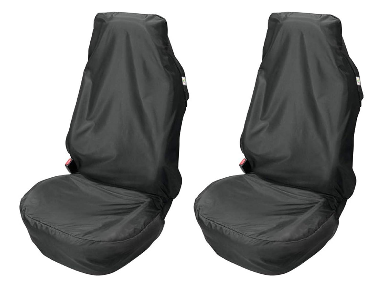 Carpendo Sitzbezü ge Schonbezug Sitzschoner Auto Universal Werkstatt Sitzbezug Werkstattschoner Set 2 TLG. Mechaniker Kegel
