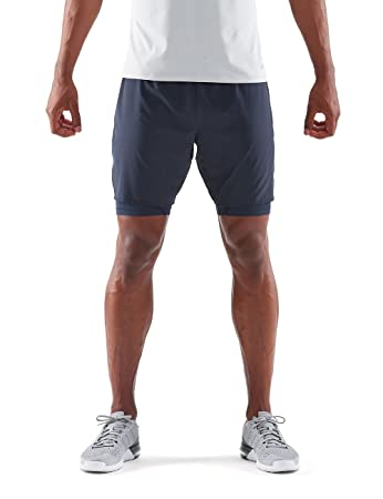 3db358a38526c Skins Men's DNAmic Superpose Half Tights: Amazon.co.uk: Sports ...