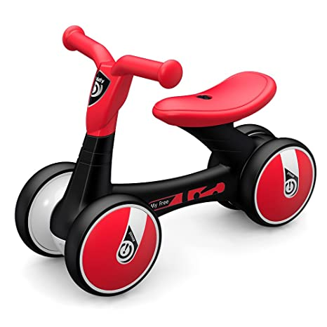 Goolsky- LUDDY Bebé Balance Bicicleta para niños Caminante para niños 12-36 meses Sin