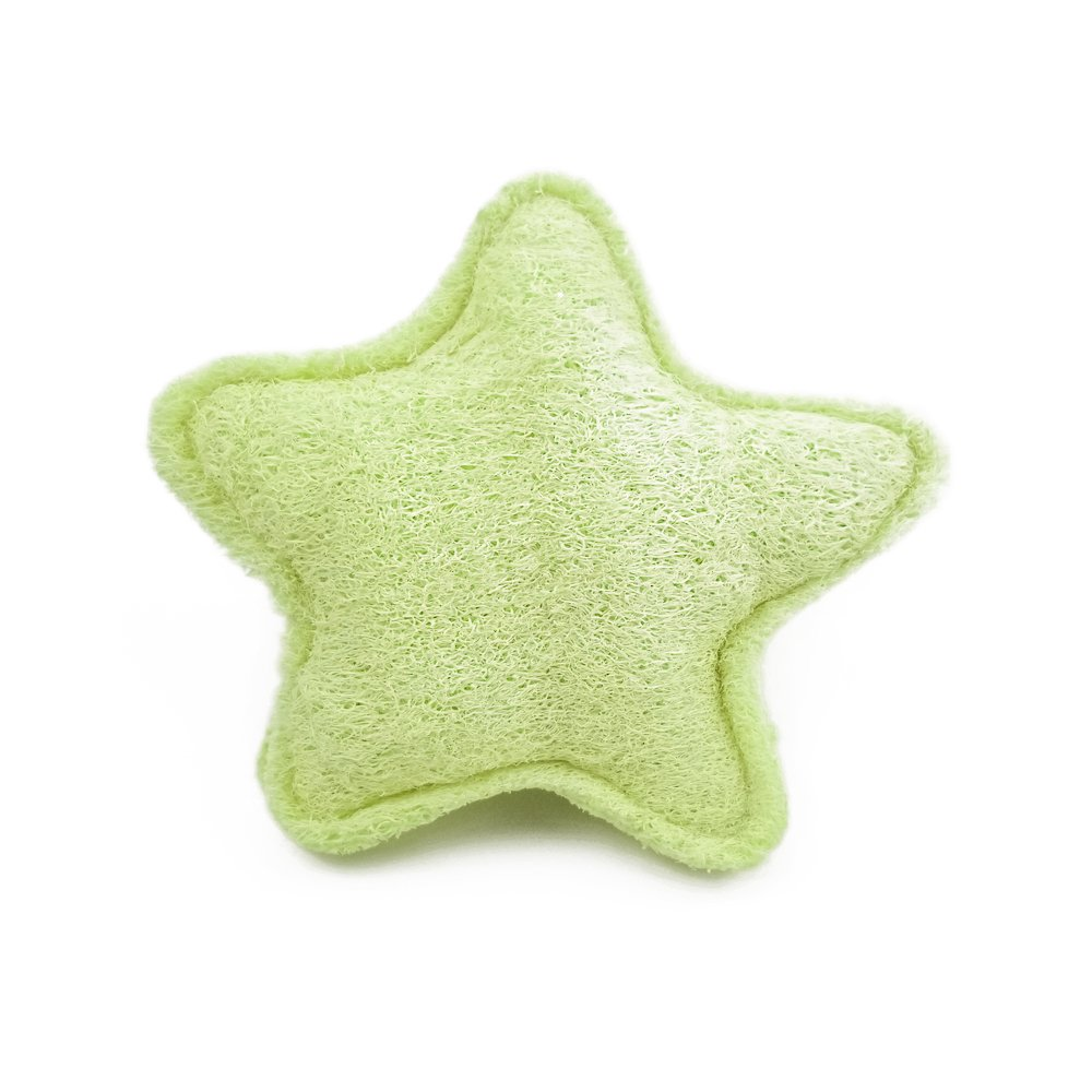 Dog Bite Tug Toy Made with Loofah Non-Toxic Tnvironmental Predection (Pentagram)