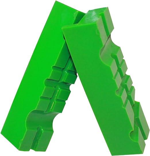BGS 3046 Kunststoff Schutzbacken für Schraubstock 125 mm magnetisch 2-tlg neu