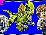 Clip: Dilophosaurus Ambush